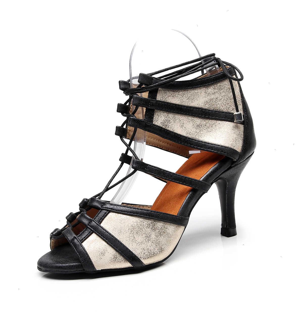 Sıcak satış Salsa caz balo salonu Latin dans ayakkabıları dans kadın artı boyutu kız Latin açık 1006 pompaları botları