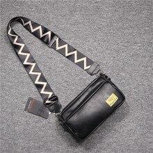 Minimalist Casual Men Shoulder Bag Korean Hip Hop Designer Travel Shoulder Bag Casual Fashion Bolsos Hombre Mens Bag DE50NDJ