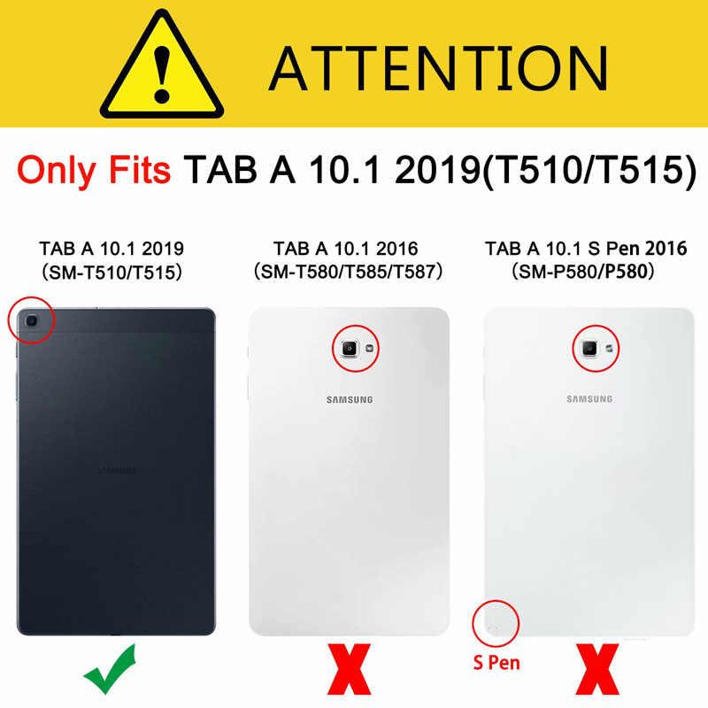 Kaca Pelindung Layar untuk Samsung Galaxy Tab A 10.1 2019 SM-T510 SM-T515 Film Penjaga Perlindungan