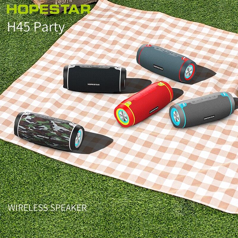 Hopestar h45 bluetooth alto-falante portátil ao ar