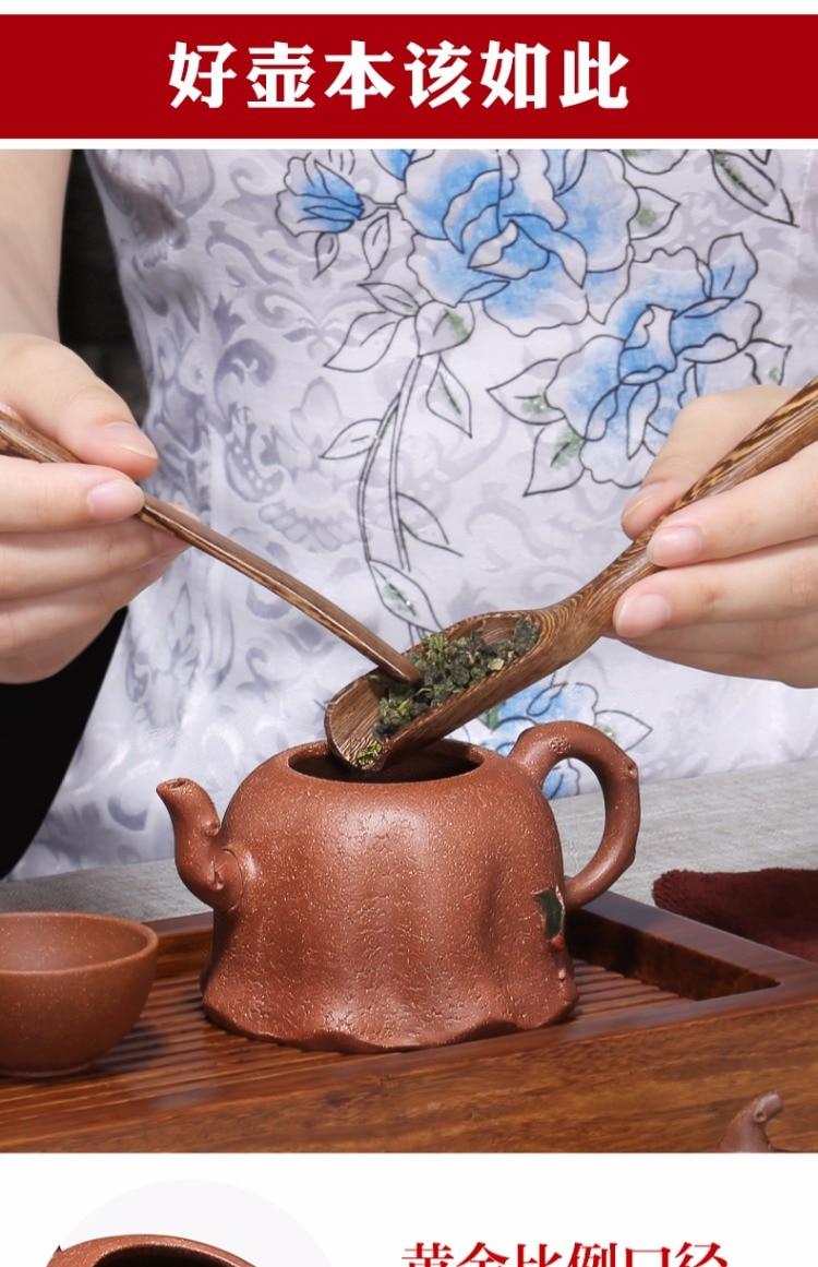 berinjela seção família kung fu bule de chá bule chá conjunto