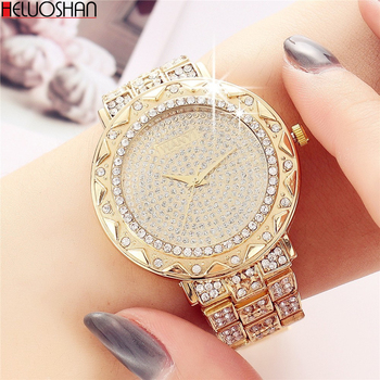 цена Brand Watches For Women Luxury Bracelet Stainless Steel Quartz WristWatch Fashion Ladies Business Cuff Dress Watch Relogio Reloj онлайн в 2017 году