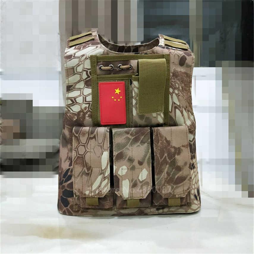 2020 mundur wojskowy dzieci kamuflaż chłopcy kamizelka taktyczna dzieci specjalne SWAT Army Combat Assault Girl odzież typu outdoor Hunting