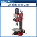 SIEG X1 Mini Mühle & Drill Maschine 220V 150W Bürstenlosen motor micro Bohrer Maschine