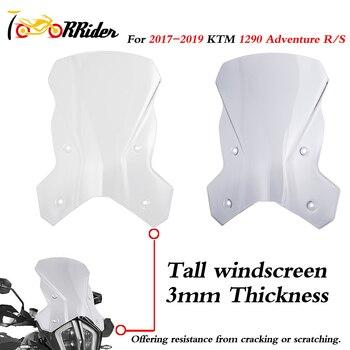 19 Adventure R S 1290 Touring Tall Windscreen Windshield Wind Shield Deflector for 2017 2018 2019 KTM 1290 Super Adventure R/S