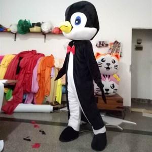 Image 3 - Yetişkin yenilikler hayvan maskot kostüm beyefendi penguenler maskot kostüm karikatür karakter Mascotte süslü elbise karnaval kıyafetler