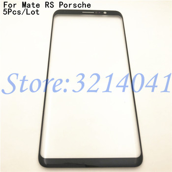 "5Pcs/Lot Top Quality New 6.0"" For Huawei Mate RS Porsche Design Touch Screen Outer Panel Front Glass lens With Logo"