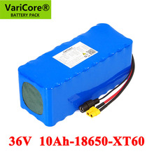 VariCore 36V 10000mAh 500W High Power Balance car 42v 18650 Lithium Battery Motorcycle Electric Car Bicycle Scooter with BMS