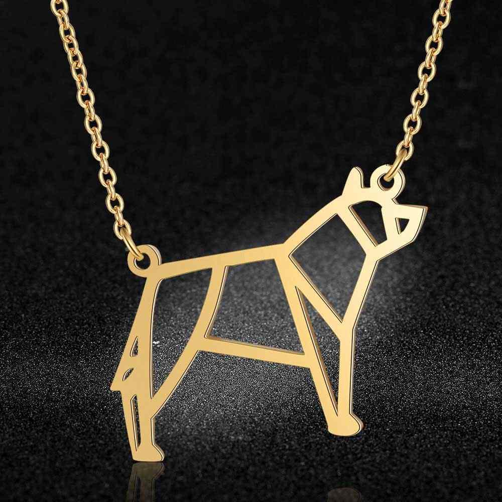 فريد الحيوان الذئب قلادة LaVixMia إيطاليا تصميم 100% الفولاذ المقاوم للصدأ القلائد للنساء سوبر مجوهرات الأزياء هدية خاصة