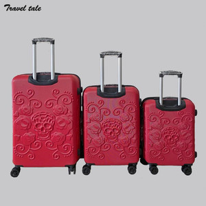 """Image 2 - CARRYLOVE 20""""24""""28"""" inch spinner ABS expander 3 pieces trolley case set rolling luggage suitcase set for travelling"""