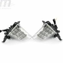 KAWASAKI Z1000SX 용 전면 LED 턴 시그널 인디케이터 NINJA 1000/R 2011 12 13 14 15 2016 오토바이 액세서리 라이트 블링 어