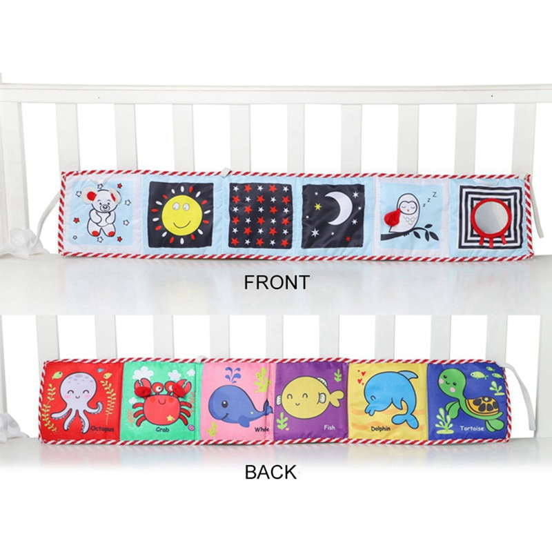 Hot Baby Bed Protector Crib Bumper Pads Baby Bed Bumper Kids Safety Bed Around Cotton Blend Baby Bed Anti-collision Bumper
