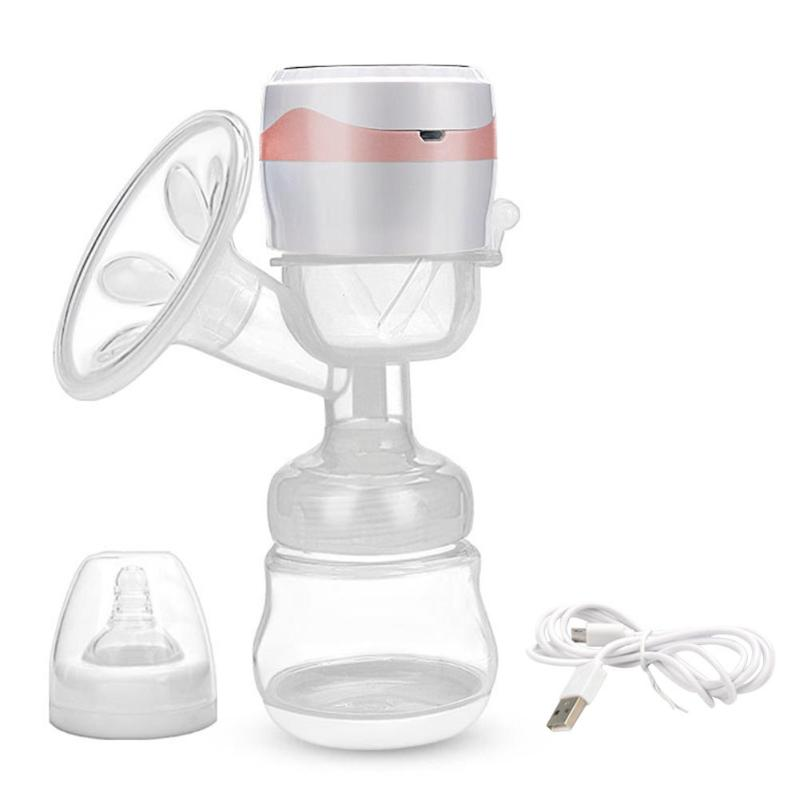 Electric Breast Milking Pump Kit Maternity Products USB Charging Smart Touch Nipple Massage Sucker With Feeding Milk Bottle