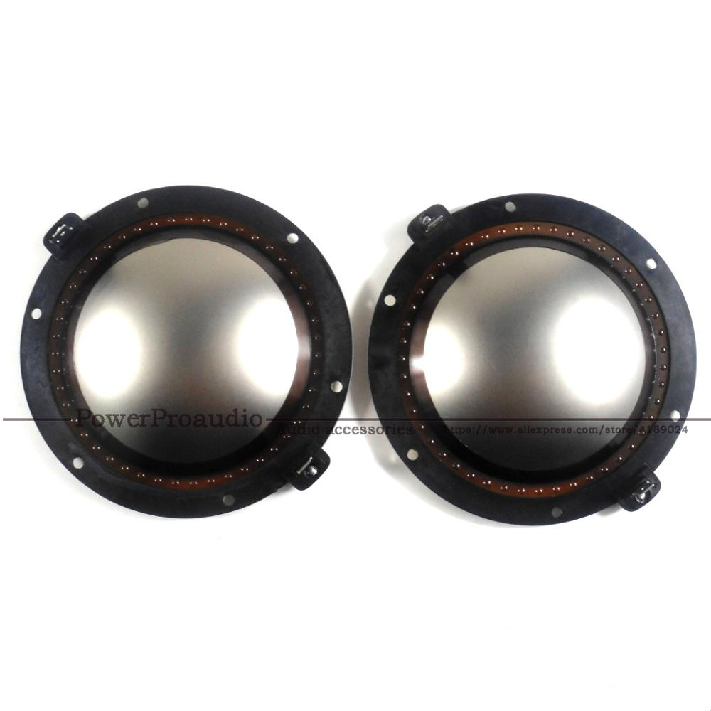2pcs Replacement Diaphragm For RCF  ND950 2.0 & 1.4 Driver 8 Ω 100 Mm 4