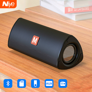 Wireless Bluetooth Speaker Outdoor Portable Soundbar Subwoofer AUX TF Card USB Pendriver FM Speakers Home Hand-free Rechargeable(China)