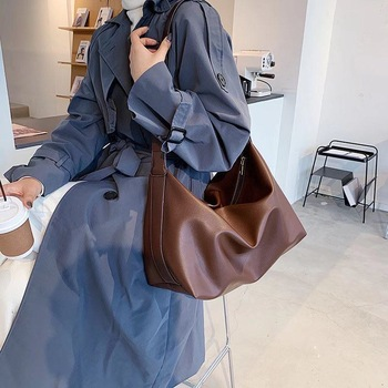High-quality Large Capacity Bag Single Shoulder Women 2020 New Arrival Fashion Autumn Winter All Match Crossbody Tote Bas Ins