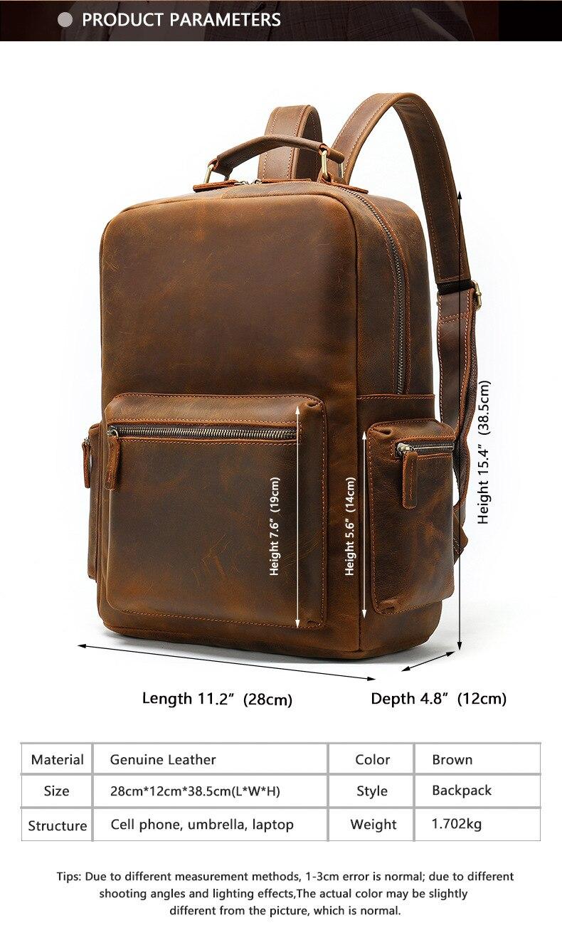 Ανδρικό σακίδιο μεγάλης χωρητικότητας laptop σακίδιο ώμου τσάντα υπολογιστή msow
