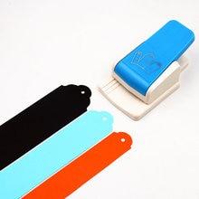 A nova etiqueta do perfurador reto 1.5, perfurador de papel para scrapbooking, 2 ou 2.5 polegadas, para artesanato diy