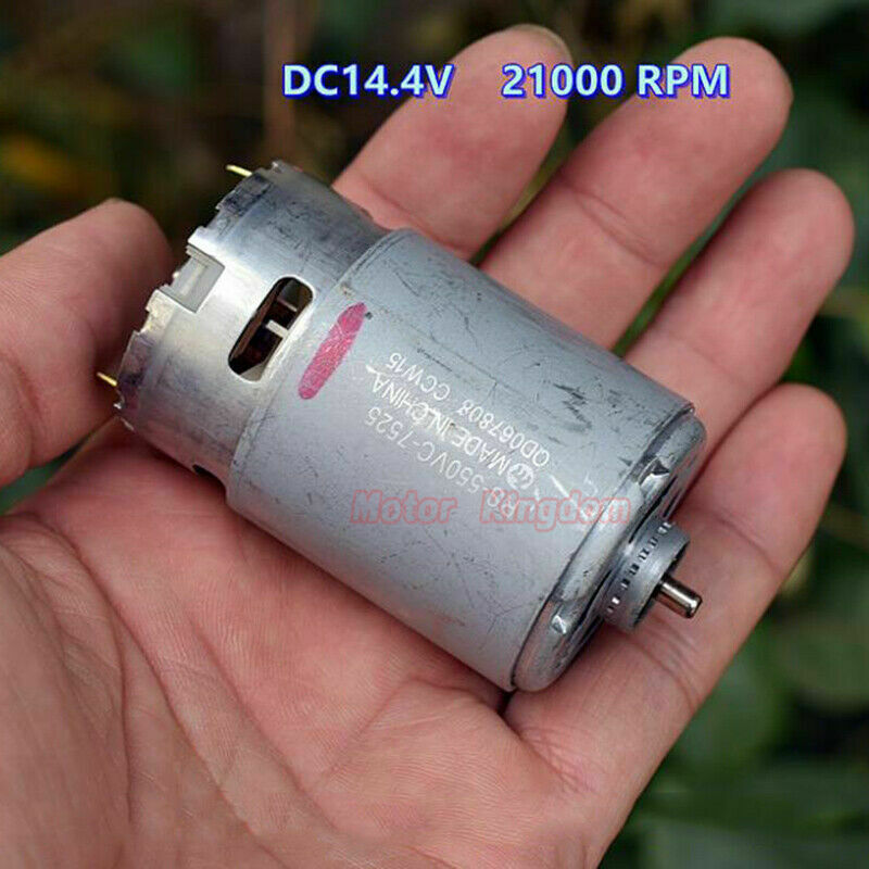MABUCHI RS-550VC-7525 DC12V 17800RPM High Speed Electric Drill Motor Power Tools