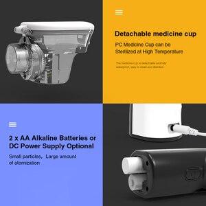 Image 5 - BGMMED Mini Portable nebulizer Handheld inhaler nebulizer for kids Adult Atomizer nebulizador medical equipment Asthma