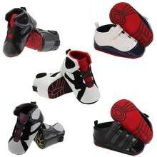 Sapatos de bebê recém-nascidos meninos meninas berço sapatos primeiros caminhantes crianças sola macia anti-deslizamento solas tênis casuais 0-18 meses
