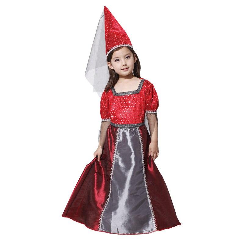Карнавальный костюм для девочки средневековье