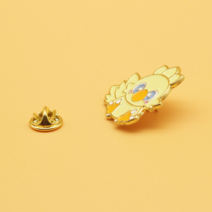 Chocobo брошка мультфильм сплав Эмаль Булавка Женская мода ювелирные изделия Подарочные значки