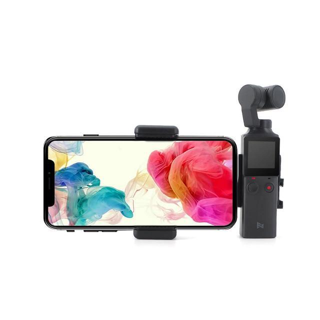 FIMI PALM klips do telefonu komórkowego uchwyt do montażu statyw teleskopowy do FIMI PALM kamera ręczna uchwyt na telefon kardana ręczna aparat