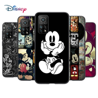 Mickey Mouse funda de silicona para Xiaomi Mi nota 11i 11 10T 10 9 9T SE 8 Lite Ultra 5G de la cáscara de la caja del teléfono
