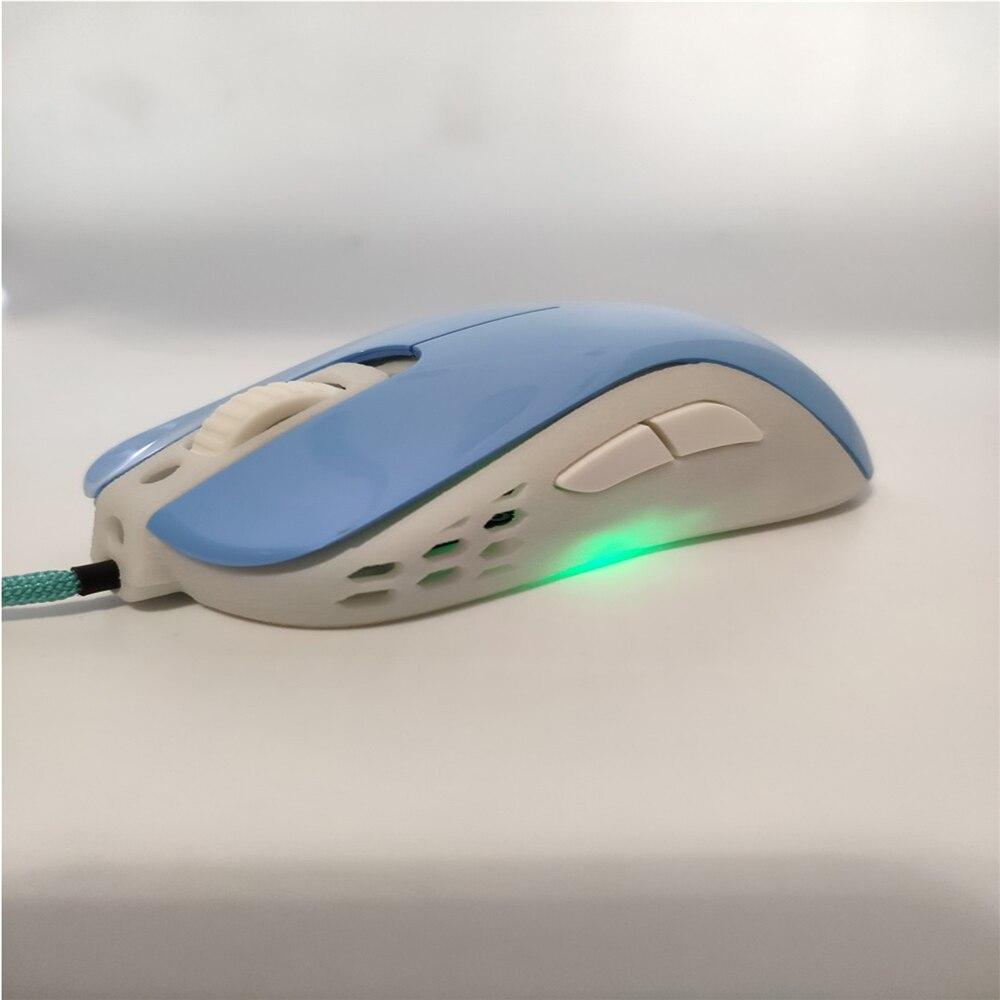 Boîtier de souris bricolage Mod pour Zowie Divina S2 remplacement de souris ultra-léger évider coque de souris
