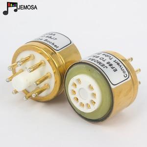 Image 2 - 1PC E80F EF86 TO 6SJ7 6J8P 6SH7 5693 717A 6Ж8C DIY HIFI Audio Vacuum Tube Amplifier Convert Socket Adapter Free Shipping