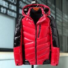 Plus rozmiar 9XL 8XL 7XL 6XL zima mężczyźni kurtka moda bawełna termiczne grube parki mężczyzna nieformalne okrycie wierzchnie wiatrówka bluzy z kapturem