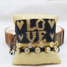 Женские браслеты с подвесками rttooas черный браслет бусинами