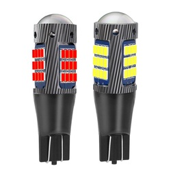 2PCS New T15 W16W WY16W Super Bright 2016 LED Car Tail Brake Bulb Turn Signals Auto Rear Fog Lamp Daytime Running Light
