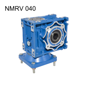 NMRV040 Gearbox Reducer Ratio 5/7.5/10/15/20/25/30/40/50/60/100 63B14 Electric Motor Gearbox Use for Automatic Doors Motor