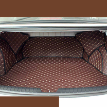 lsrtw2017 for kia optima K5 luxury leather car trunk mat cargo liner 2010 2011 2012 2013 2014 2015 rug carpet boot luggage