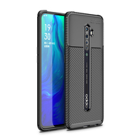 style protective For OPPO Reno 2 Case Business Style Silicone Rubber Shell TPU Back Phone Cover For OPPO Reno2 Protective Case For OPPO Reno 2 (2)