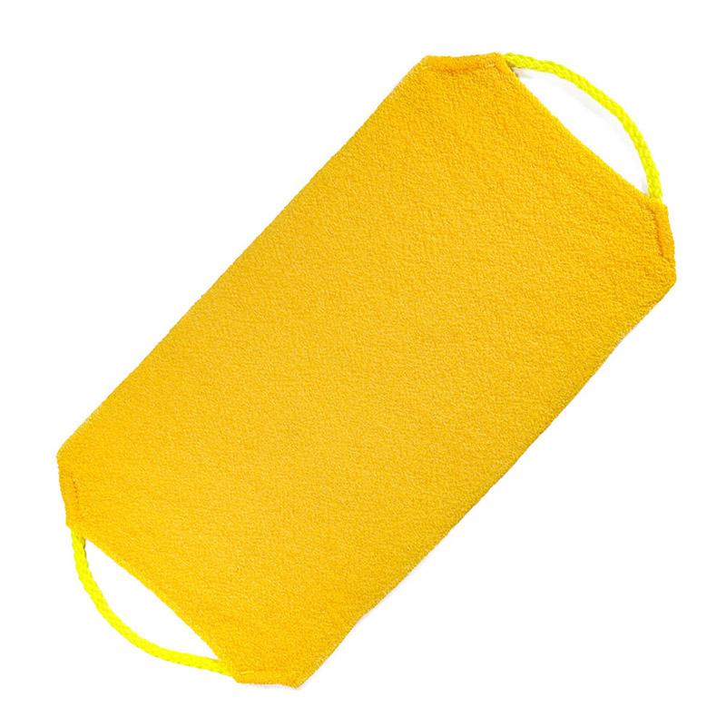 Newly Shower Exfoliating Back Scrubber Men Women Long Bath Towel Deep Clean Skin CLA88