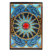 DIY Mandala Special Shaped Diamond Painting 60 Sheets A5 Office Notebook