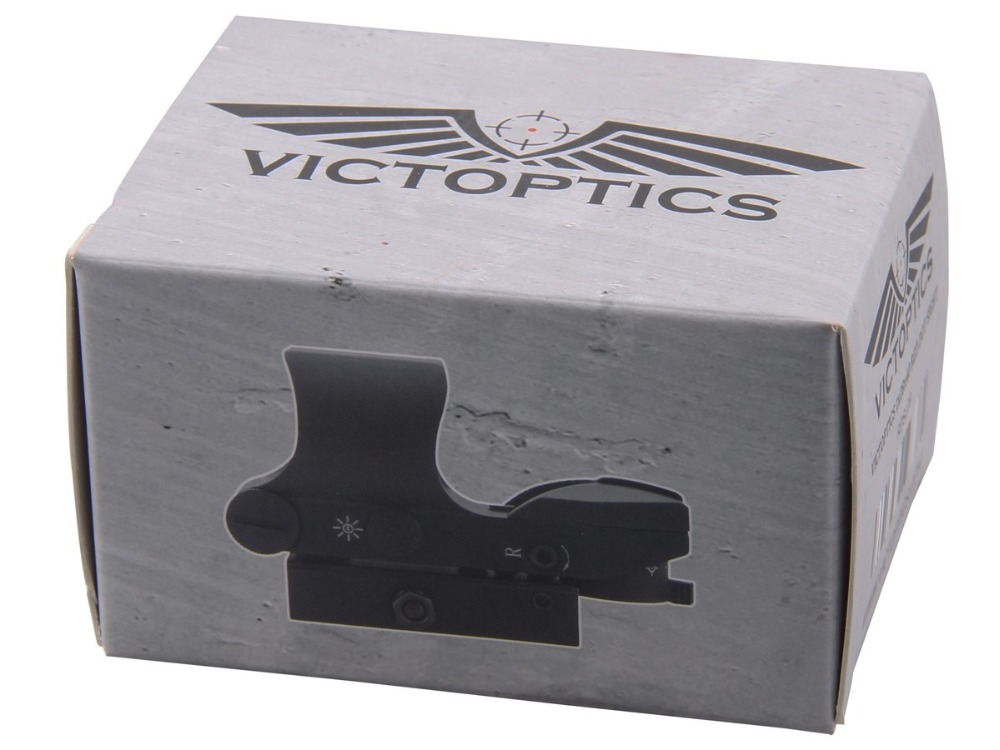 VI 1x28x40 Red Dot Sight Acom package