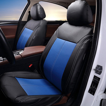 цена на New Luxury Quality PU Leather Car seat protection cover Automobiles Seat Covers Set Universal Fit Most Cars Seat Covers For gift