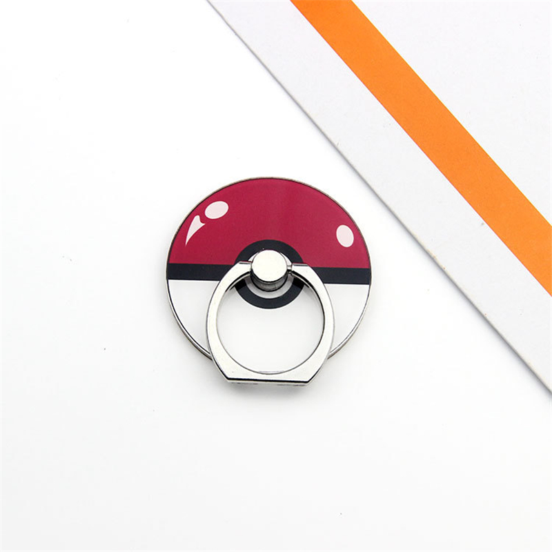 Pokemon Go Pocket Monster Pikachu косплей реквизит Poke Ball Cute Charmander Psyduck держатель для мобильного телефона Регулируемая рамка - Цвет: A