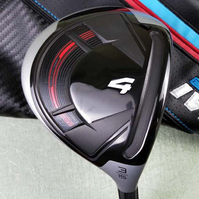 4M Fairway Wood 3 And 5 Golf Club Graphite Shaft Golf Headcovers Wood Clubs Free Shipping