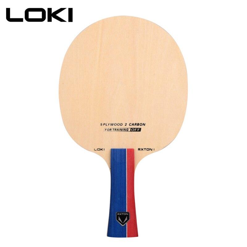LOKI RXTON 1 lame de ping-pong en carbone 7 couches raquette de ping-pong Offensive pour l'entraînement