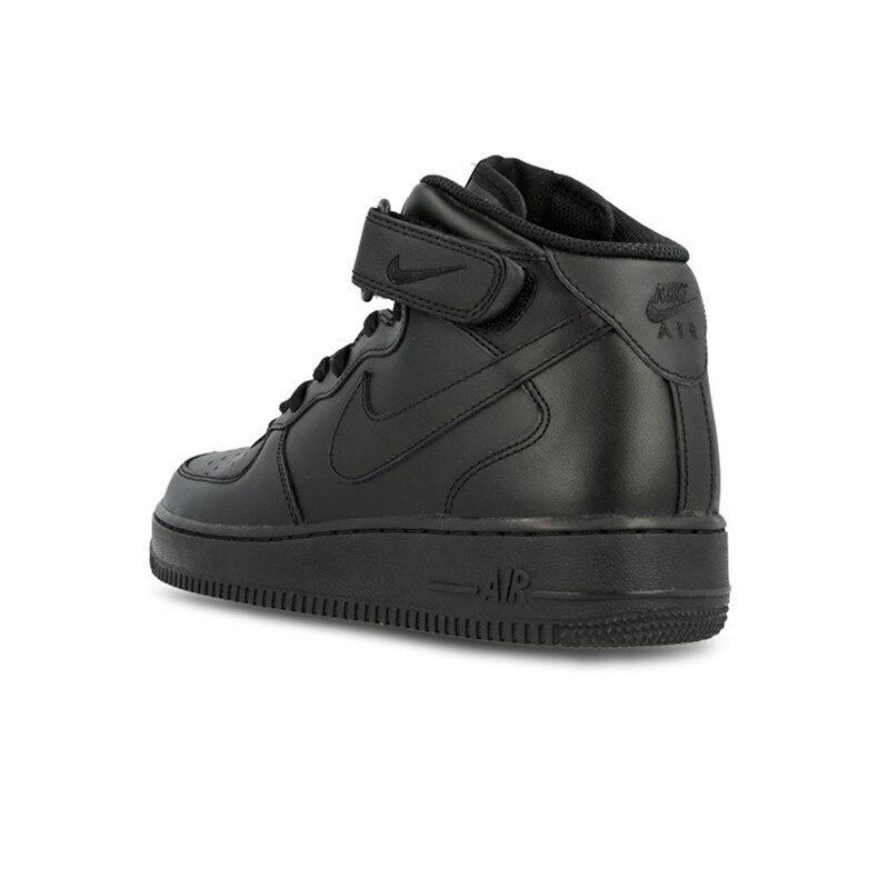 Original Air Force 1 AF1 Officer Low Black High White Breathable Men Women Sports Sneakers Skateboarding Shoes