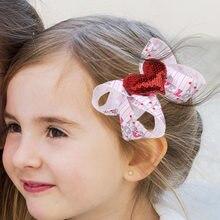 Аксессуары для волос на День святого Валентина девочек детская