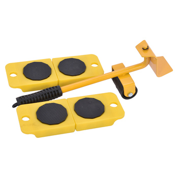 5 In 1 Easy Moving Heavy Furniture Moving Tools Table Sofa Removal Sliders Home Household Product Transport Moving Wheel Slider