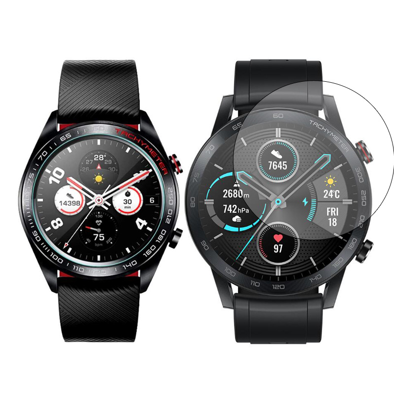 Tempered Glass Protective Film Guard For Huawei Honor Watch GT/Magic 2 Screen Protector Cover GT2 Magic2 Smartwatch Protection