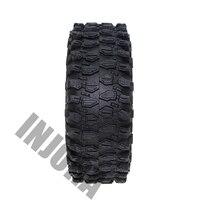"4PCS 120MM 1.9"" Rubber Rocks Tyres / Wheel Tires for 1:10 RC Rock Crawler Axial SCX10 90046 AXI03007 D90 D110 TF2 Traxxas TRX-4 5"