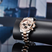 Pagani design relógio de pulso masculino, novo relógio de marca de luxo militar à prova d água relógio de quartzo social relógio masculino